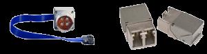 Émetteurs-récepteurs des Séries Dagger (à gauche) et Razor (à droite)