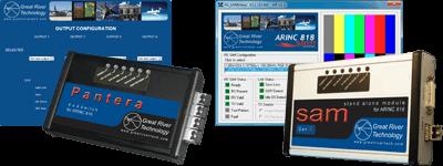 Toutes les unités Pantera et HS SAM comprennent des applications de support.